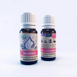 ORGANICKÁ ŠKORICA, esenciálny olej