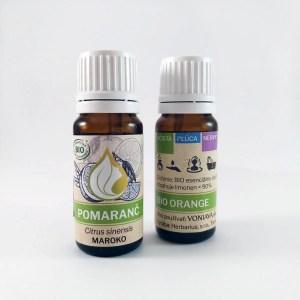 Organický POMARANČ, esenciálny olej