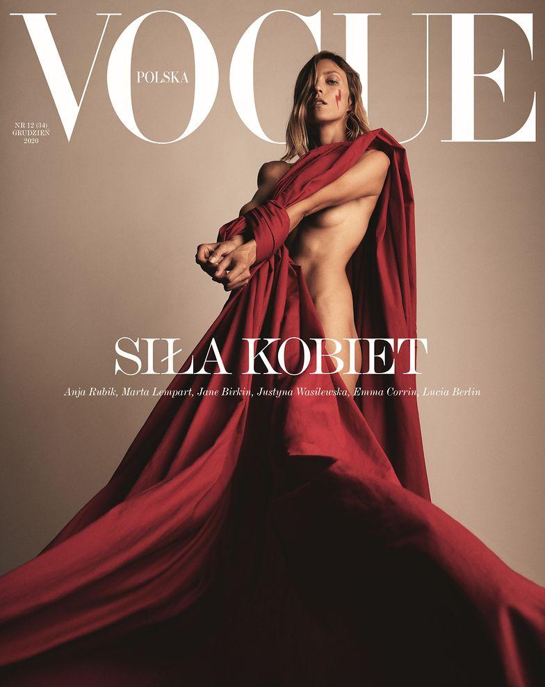 Anja Rubik Vogue Nago