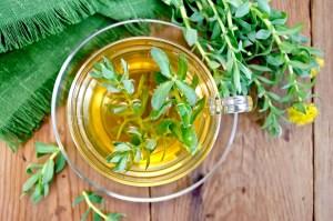 herbal tea with rhodiola rosea