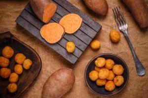 thai fried sweet potato