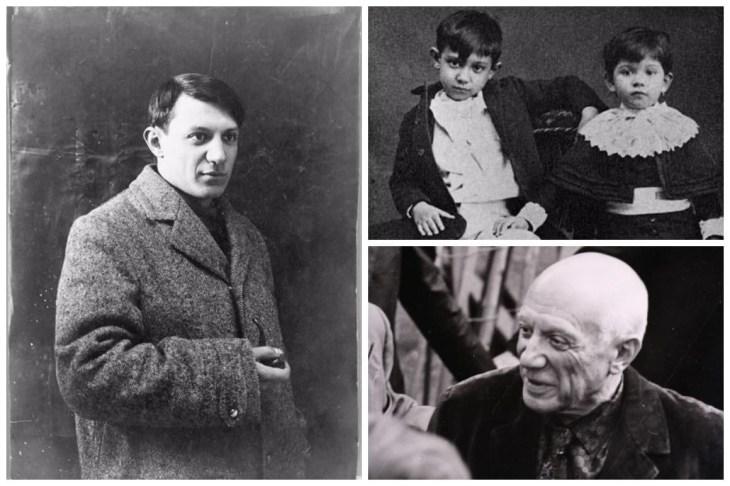 Pablo Picasso Collage