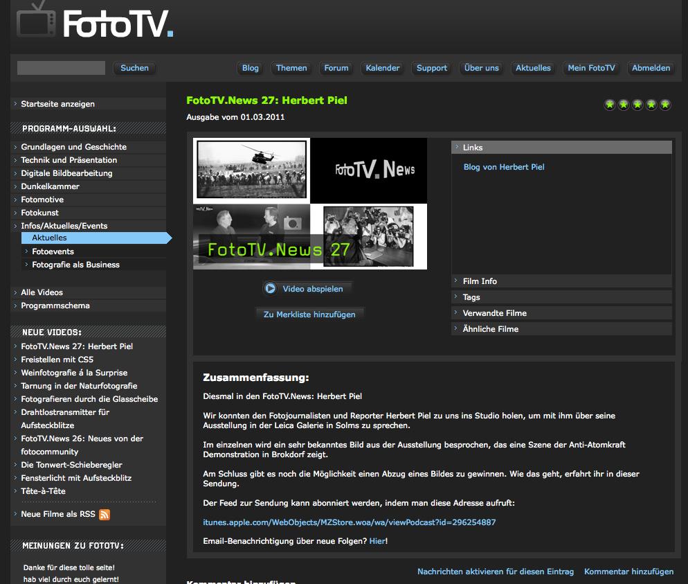 FotoTV Screen