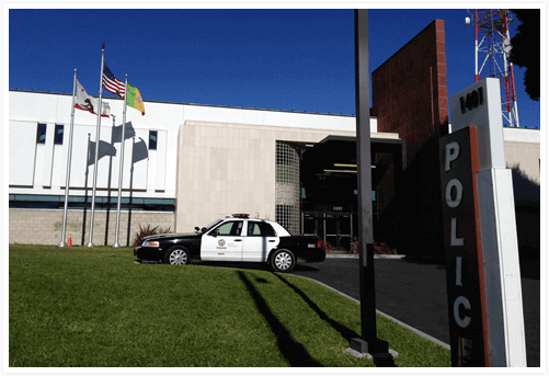pomona police station image