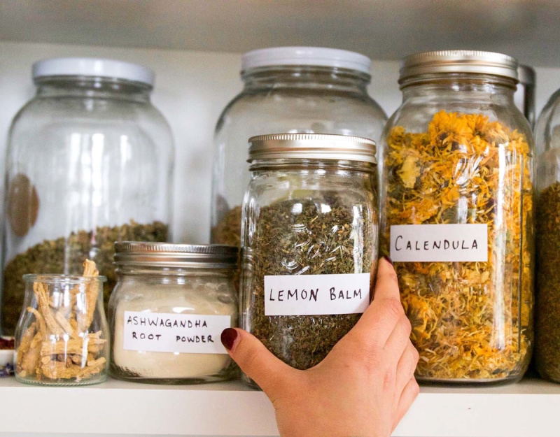 Learn how to use a variety of herbs to make DIY herbal teas, herbal oils, salves, infused honey, tinctures and more.