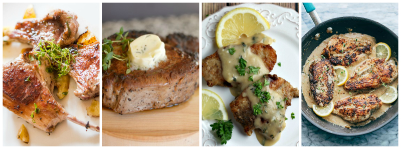 Recipes using fresh thyme - main dishes
