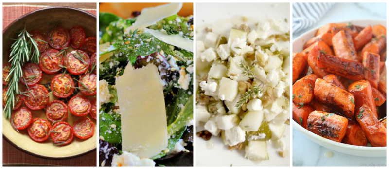 Salads and Vegetable Recipes with Fresh Thyme