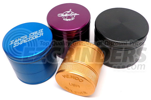 Bunch O' Grinders: SCS, Cosmic, Mendo, and Space Case