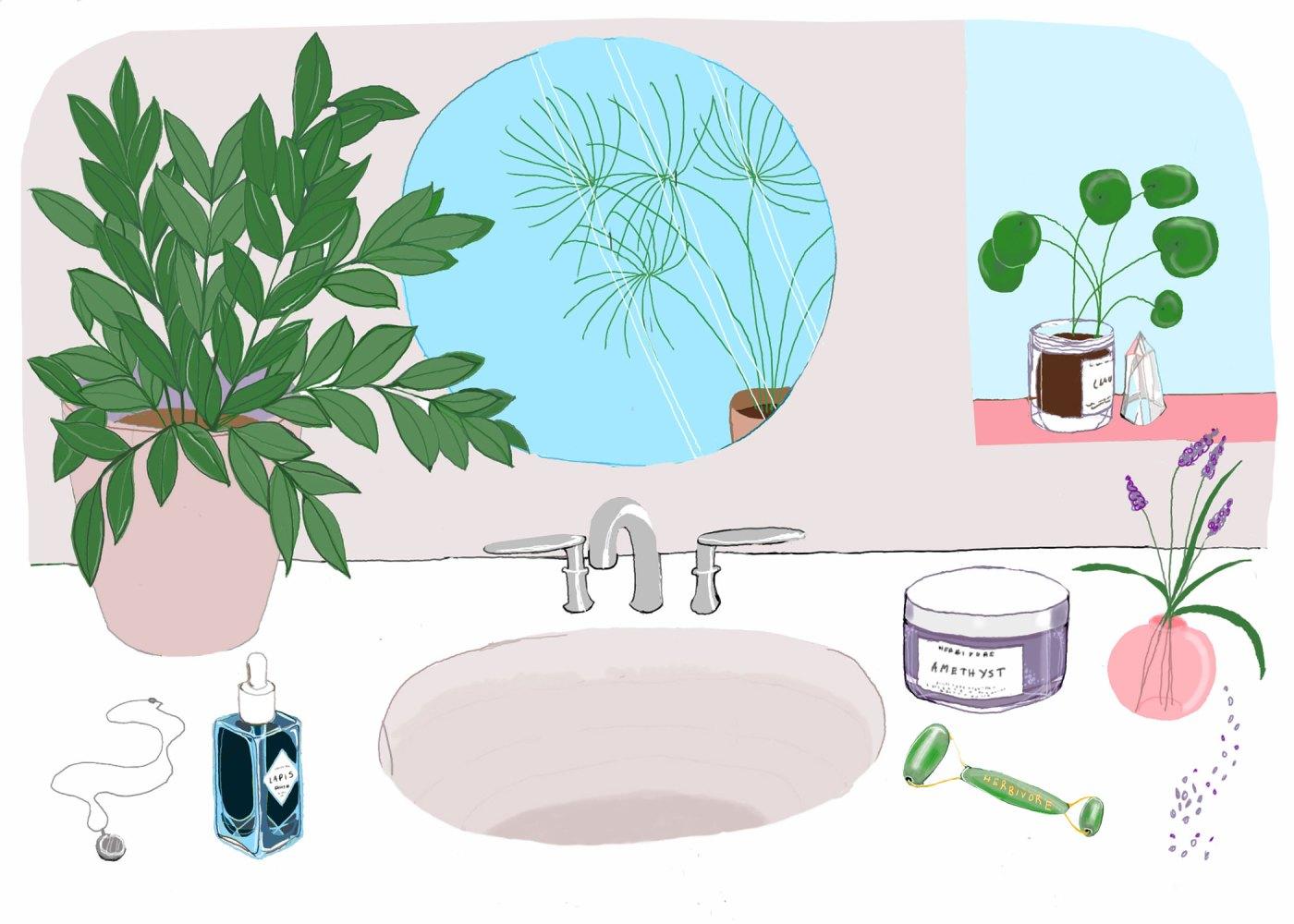 Six Bathroom Decor Tips for Good Energy + Vibes
