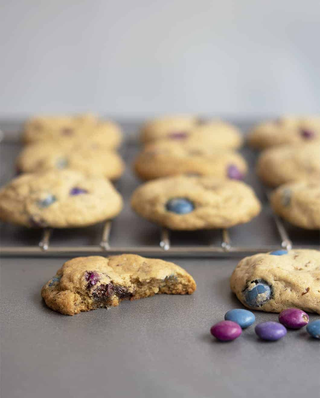 Vegan M&M Cookies: The Best Vegan Cookies in the Whole Wide World of Vegan Baking (and Maybe Baking in General!)