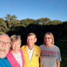Jan and Roger gave us their driveway to park in overnight in Randall, Kansas