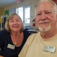 Elaine and Don (I worked with Don at Xerox in Detroit in the 70's, we bumped into them in Summerdale, AL and again in Heiskell, TN