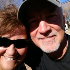 Cindy and Steve, new friends in AZ
