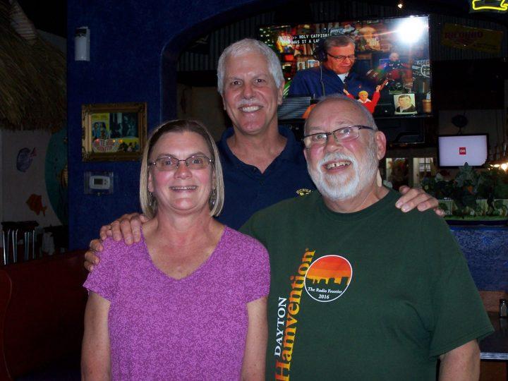 Tom, friends since grade school, met up in Galveston Dec '17 after 40+ years