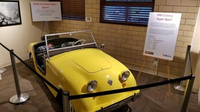 A 40's vintage Crosley convertible