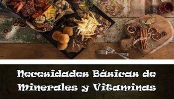 Vitaminas y Minerales necesidades básicas