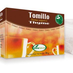 Tomillo Infusión – Soria Natural – 20 sobres