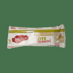 Barrita proteica yogurt-manzana y chocolate blanco – Zero remordimientos – Drasanvi – 35 gr