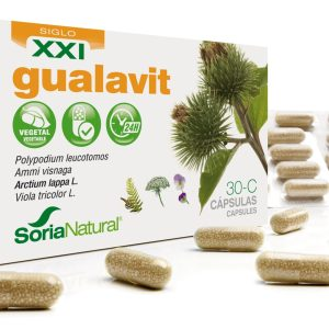 30-C Gualavit XXI – Soria Natural – 30 cápsulas