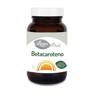 Betacaroteno Plus – El Granero Integral – 60 perlas