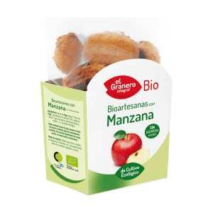 Galletas Artesanas con Manzana Bio – El Granero Integral – 250 gr