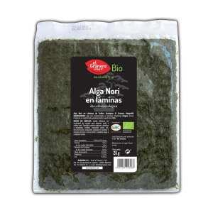 Alga Nori en Láminas – El Granero Integral – 25 gr
