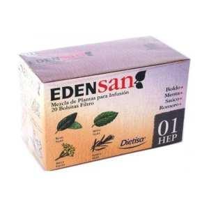 Edensan 01 Hep Infusiones – Dietisa – 20 unidades