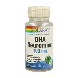 DHA Neuromins – Solaray – 30 perlas