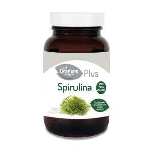 Spirulina Plus – El Granero Integral – 200 comprimidos