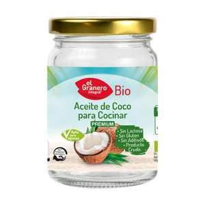 Aceite de Coco para Cocinar Bio – El Granero Integral – 500 ml