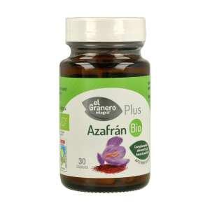 Azafrán Bio – El Granero Integral – 30 cápsulas