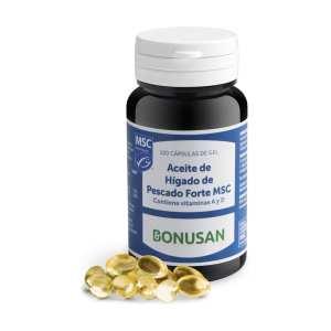 Aceite de Hígado de Pescado Forte MSC – Bonusan – 120 perlas