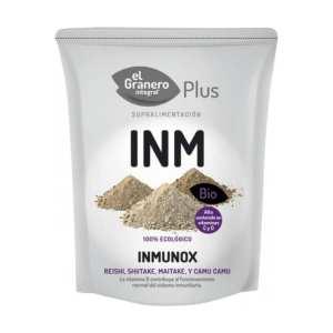 Inmunox (Shiitake, Maitake, Reishi y Camu Camu) Bio – El Granero Integral – 150 gr