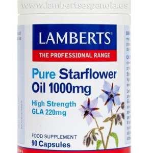 Aceite de Borraja Puro – Lamberts – 90 perlas