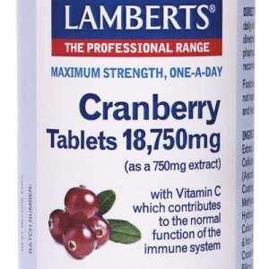 Arándano Rojo 18.750 mg – Lamberts – 60 comprimidos