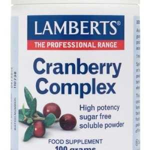 Cranberry Complex – Lamberts – 100 gramos