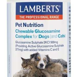 Complejo de Glucosamina Masticable – Lamberts – 90 Tabletas