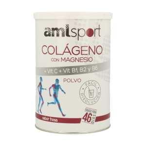 Colágeno con Magnesio y Vitamina C + B1 B2 B6 Amlsport – Ana Maria Lajusticia – 350 gr