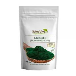 Alga Chlorella en Polvo ECO – Salud Viva – 125 gr