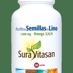Aceite de semillas de Lino – Sura Vitasan – 90 perlas