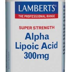 Ácido Alfa Lipoico 300 mg – Lamberts – 90 comprimidos
