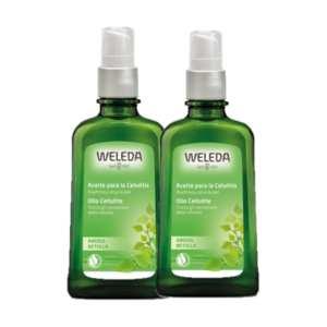 Pack Aceite de Abedul para la Celulitis – Weleda – 2 x 100 ml