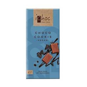 Chocolate Con CooKies Bio – ICHOC – El Granero Integral – 80 gr