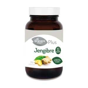 Jengibre Plus – El Granero Integral – 75 cápsulas