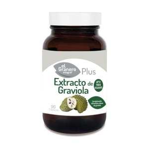 Extracto de Graviola – El Granero Integral – 90 cápsulas