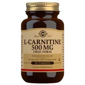 L-Carnitina 500 mg – Solgar – 60 comprimidos