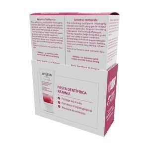 Duplo Pasta Dentífrica de Ratania – Weleda – 2×75 ml