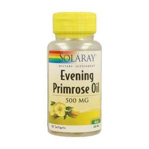 Evening Primrose Oil 500mg – Solaray – 90caspsulas