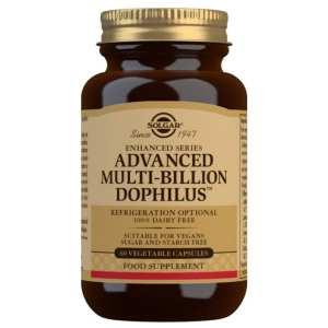 Multi-Billion Dophilus Avanzado – Solgar – 60 Cápsulas