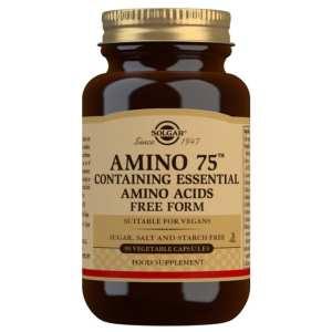 Amino 75 – Solgar – 90 cápsulas